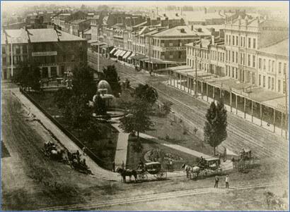 Gore Park - 1870